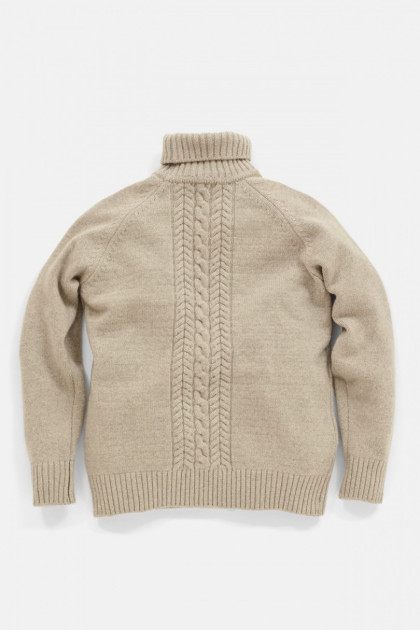 PORTRAIT TURTLE NECK SWEATER